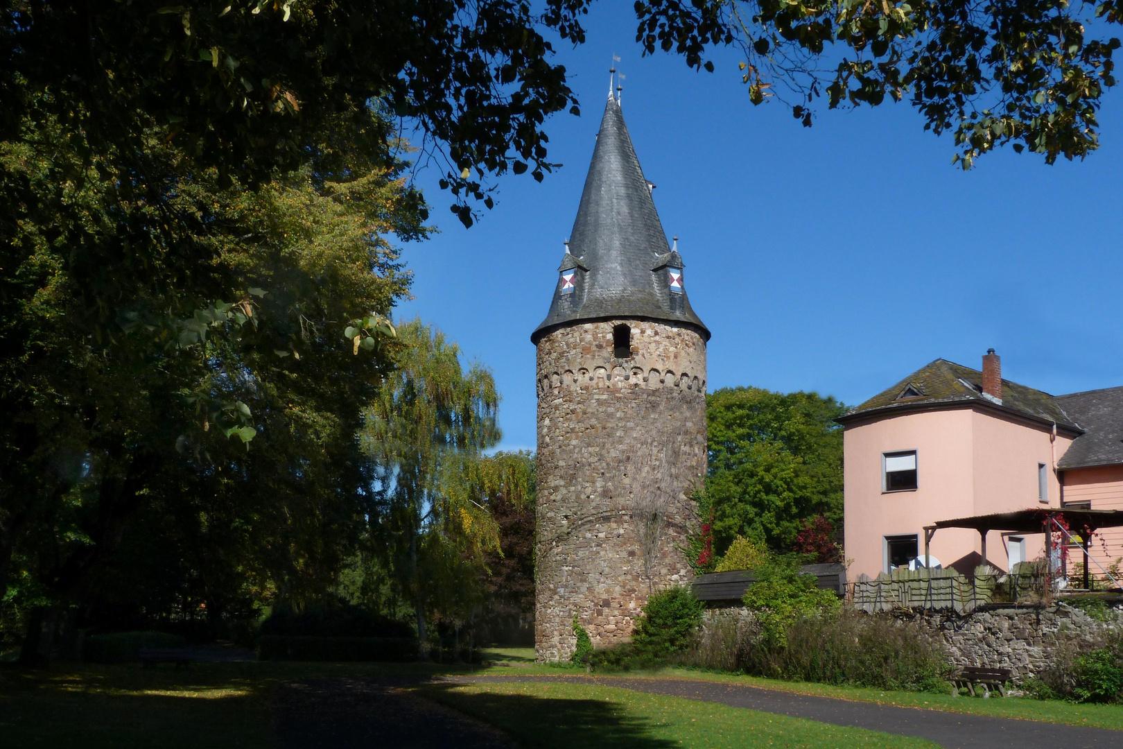 Rundturm der ehem. Stadtbefestigung in Dierdorf / Westerwald