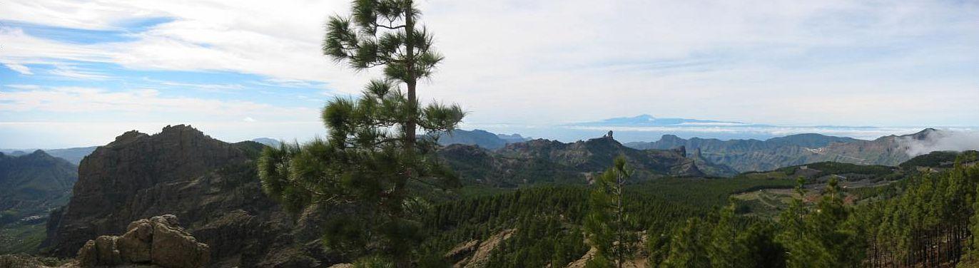 Rundumsicht am Pozo de Las Nieves