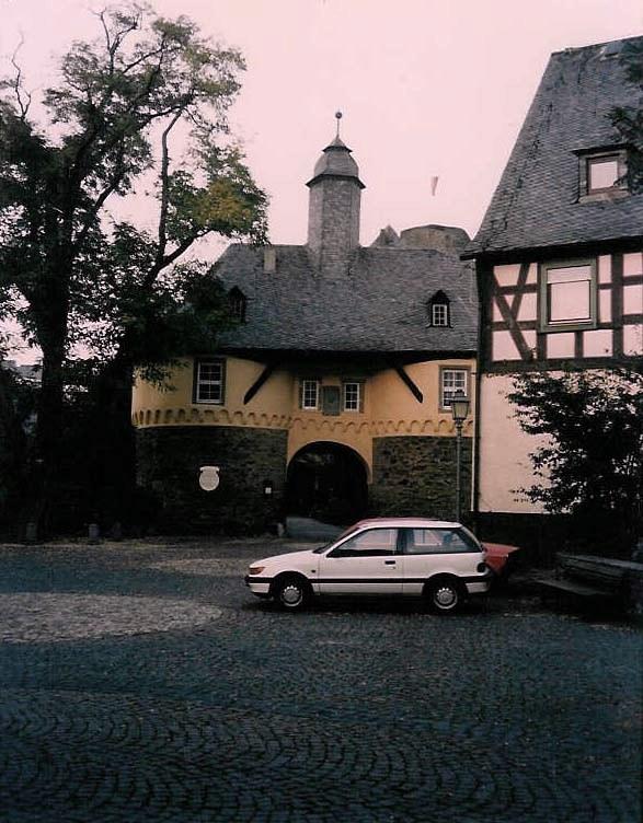 Runkel am 03. Oktober 1990