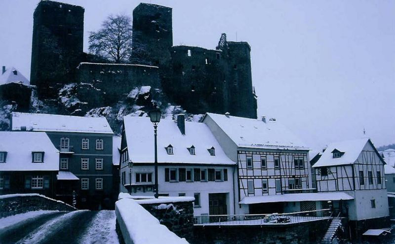 Runkel in Winter - Runkel en hiver