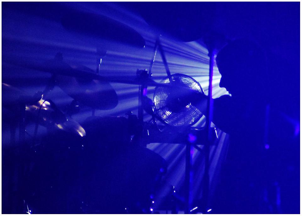 RUNRIG: Drummer in Action