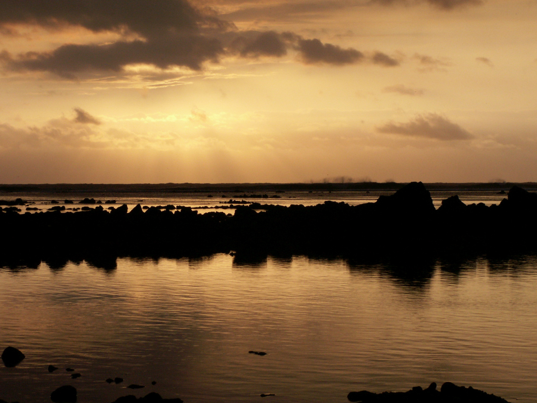 Run's sunset