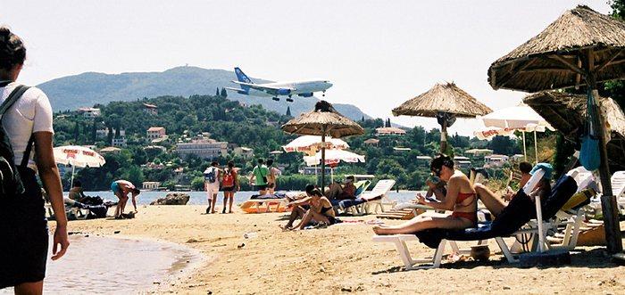 runway on the beach