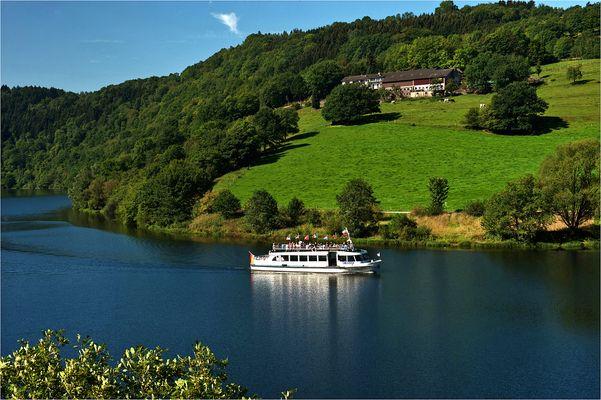 Rursee - Nationalpark Eifel