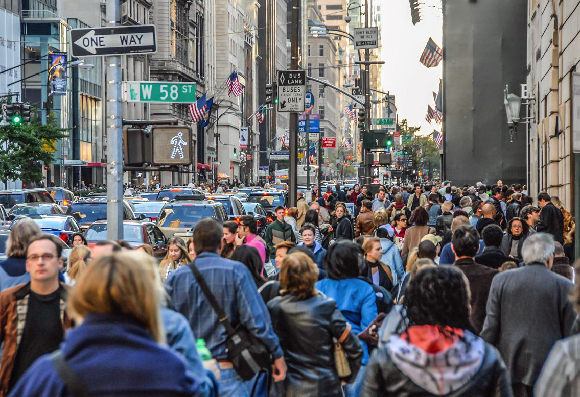 Rush hour 5th Ave