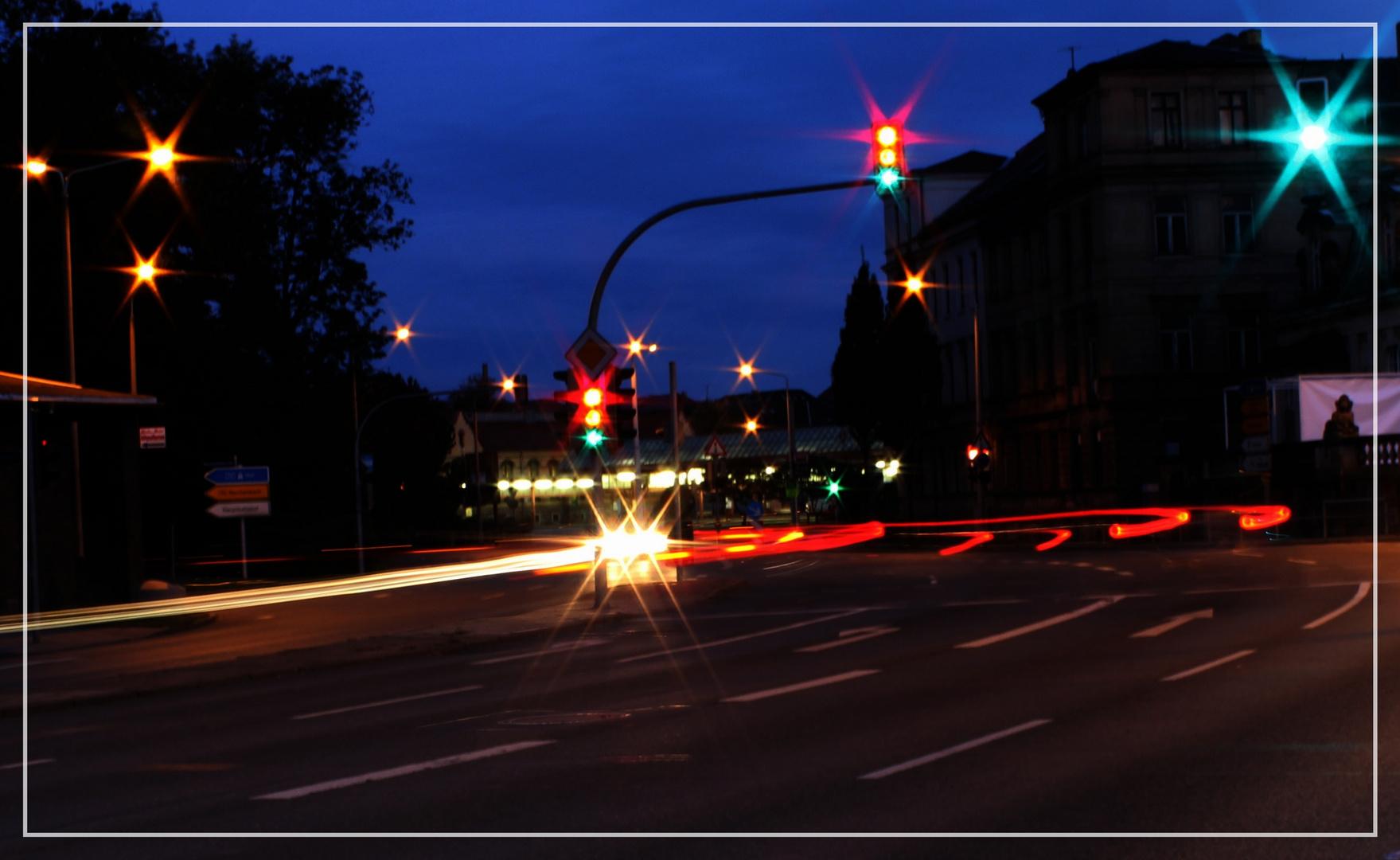 Rush Hour am frühen Morgen - Zwickau