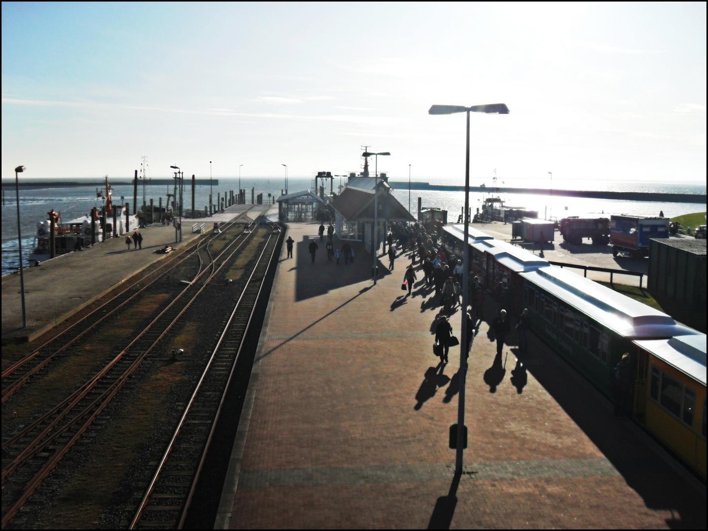 Rush-Hour am Hafen