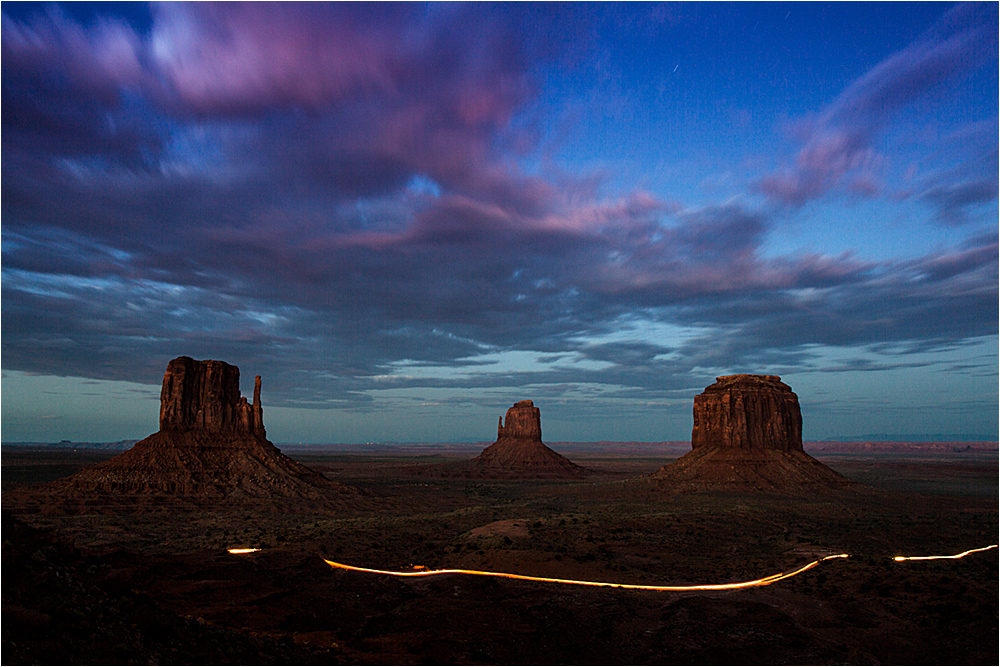 Rush Hour at Monument Valley