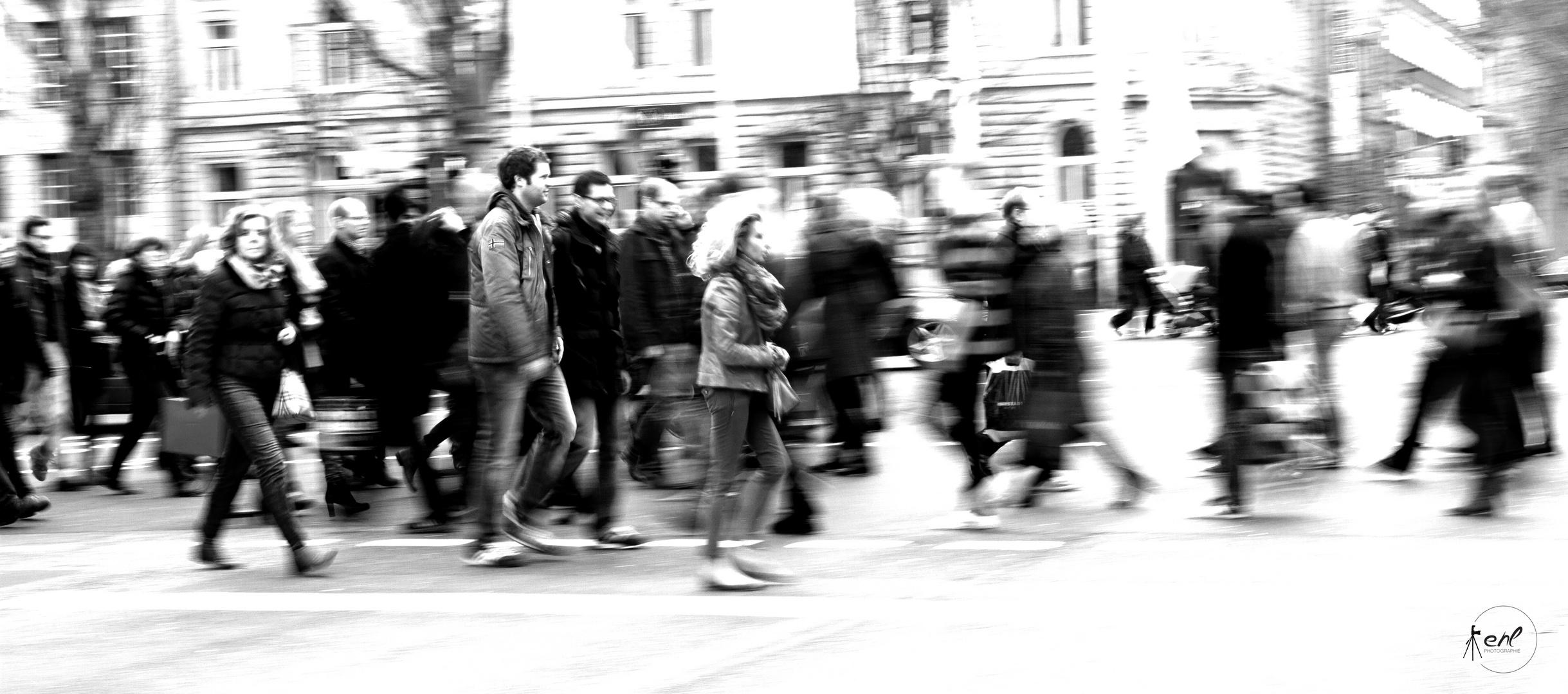 Rush-Hour auf der KÖ