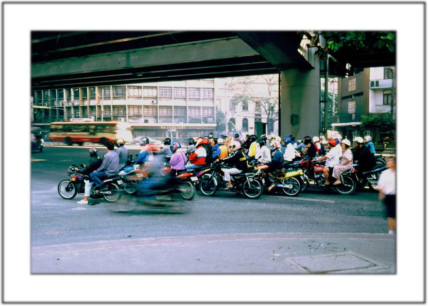 Rush Hour auf Thailändisch