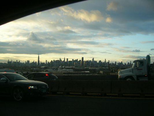 rush hour- from the bridge -