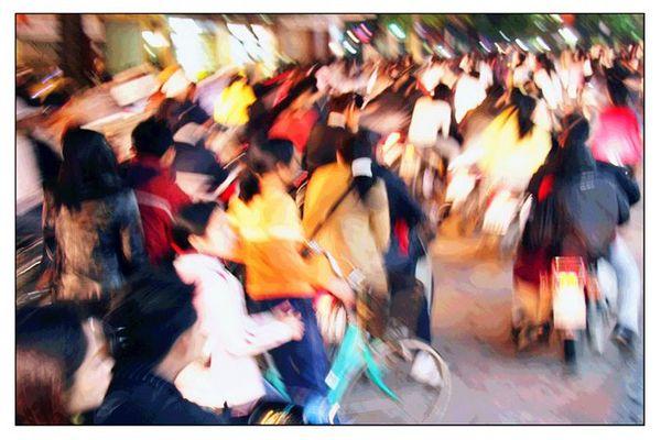 Rush Hour-Hanoi Vietnam