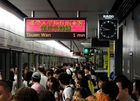 Rush Hour HK Metro