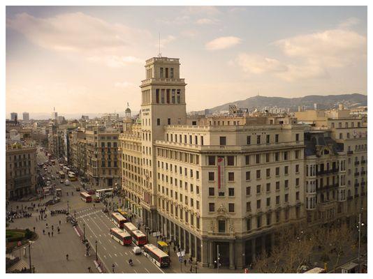 Rush Hour in Barcelona