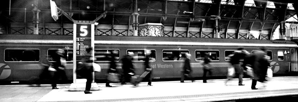 Rush Hour in Paddington