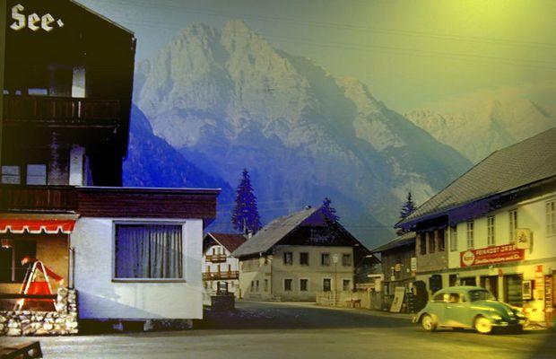 Rush-Hour - vor 30 Jahren in Seefeld/Tirol