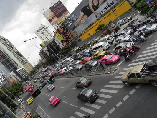 Rushhour in Bangkok