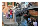 Rushhour in Venedig