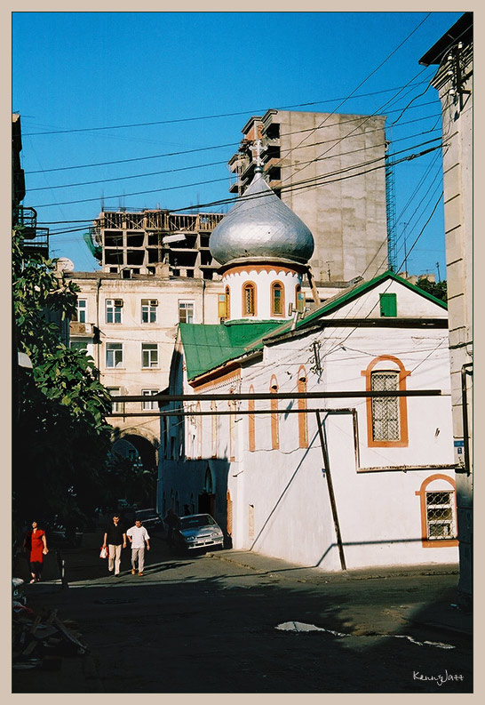 Russian church in Baku