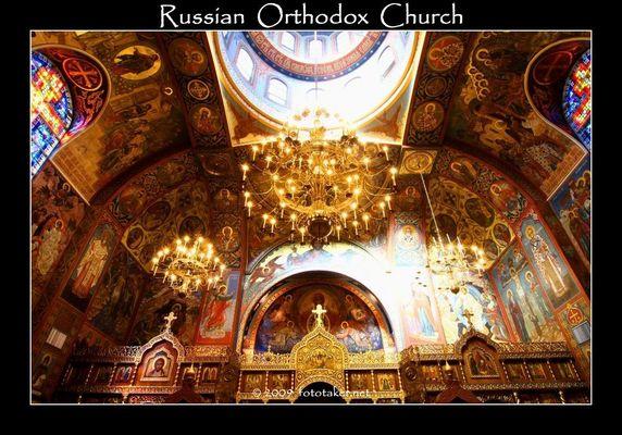 Russian Orthodox Church in San Francisco