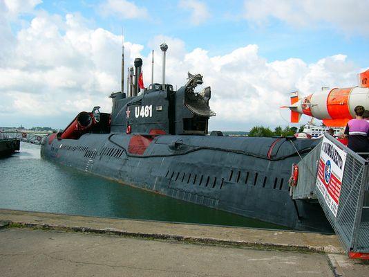russian Uboot in Peenemuende (Germany)