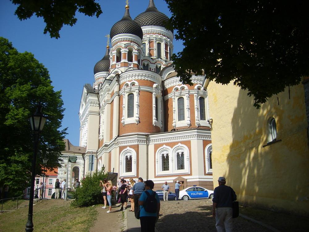 Russiche Kirche in Villna