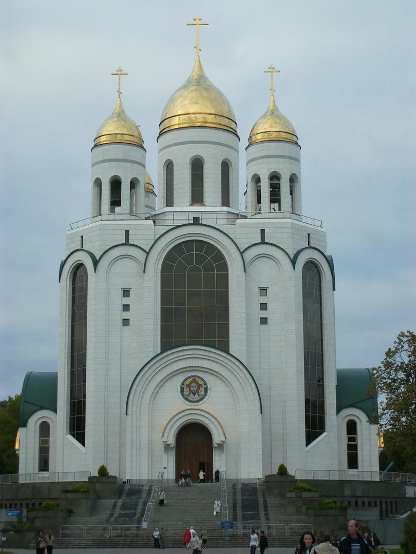 russisch orthodoxe kirche in kaliningrad ehem k nigsberg. Black Bedroom Furniture Sets. Home Design Ideas