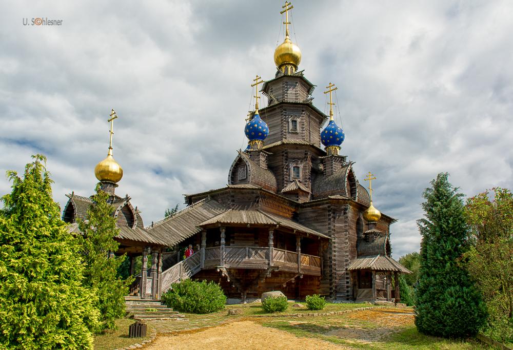 Russische Holzkirche