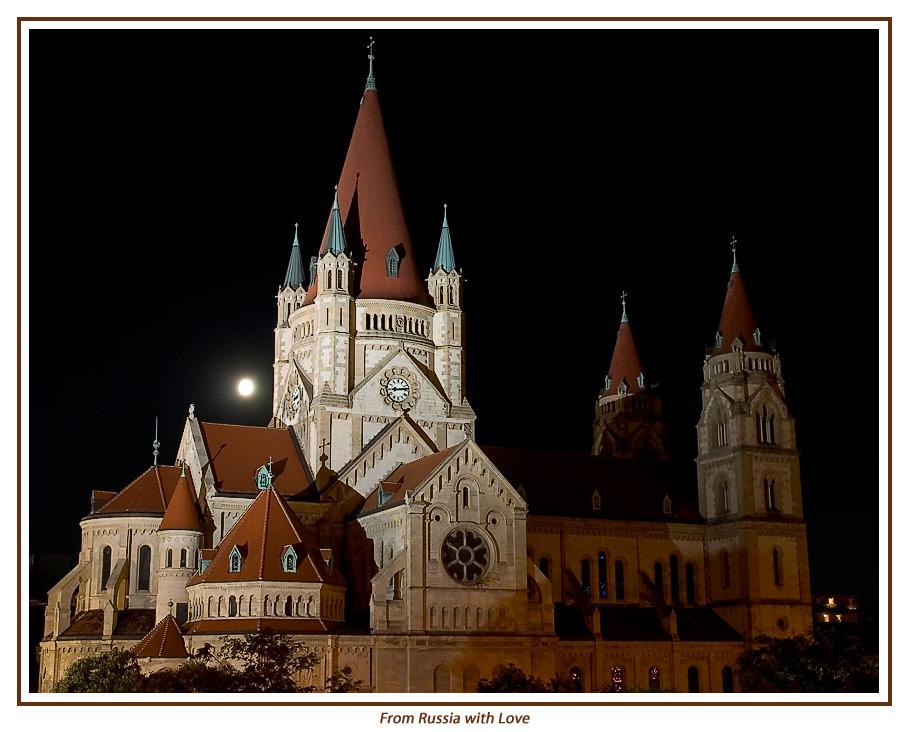 Russische Kirche beim Mexicoplatz in Wien