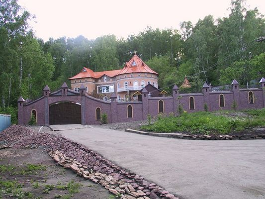 Russische Villa, Altai, Sibirien