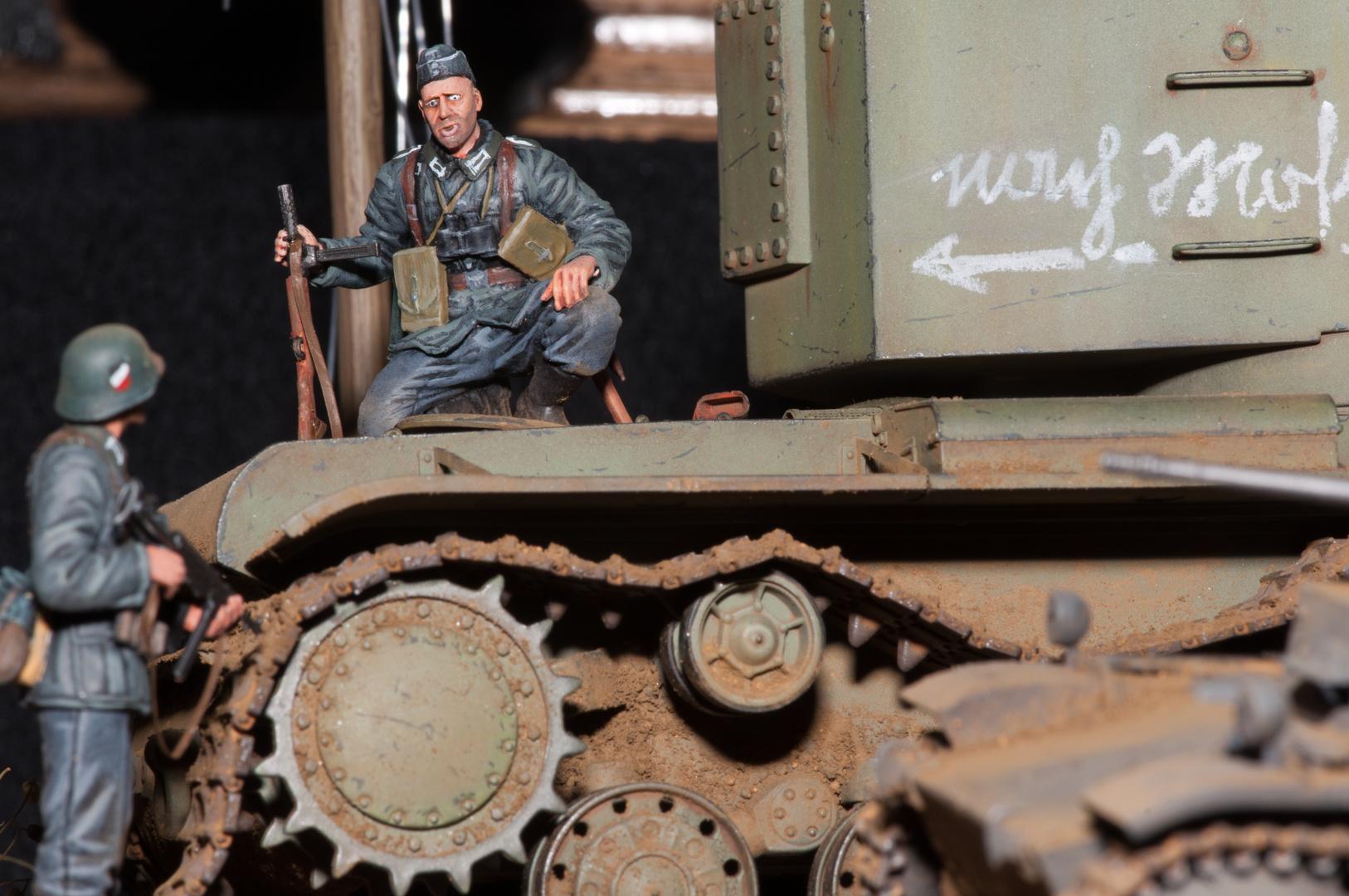 Russischer Beute Panzer.
