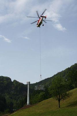 Russischer Schwehrarbeiter zu Gast in der Schweiz