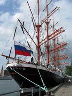 Russischer Segler auf der Kieler Woche