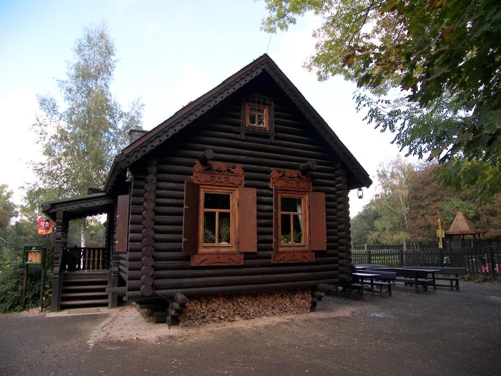russisches Blockhaus