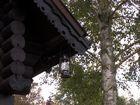 russisches Blockhaus Detail