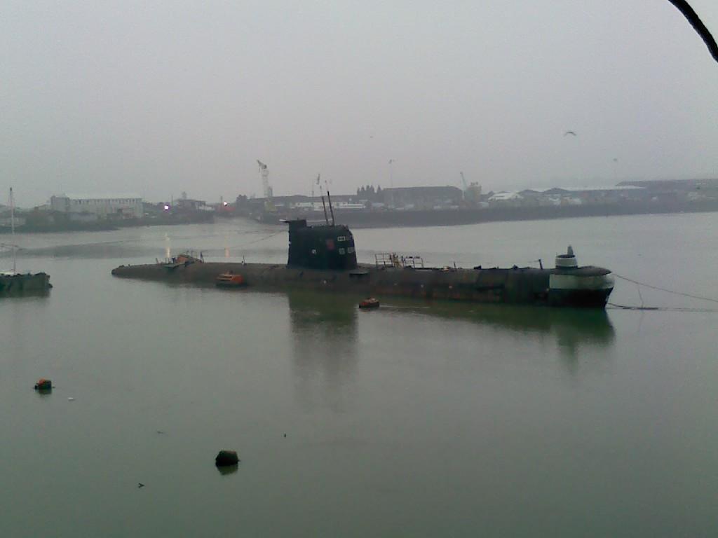 """Russisches U-Boot U-475 """"Schwarze Witwe"""" ist nicht mehr im Einsatz."""