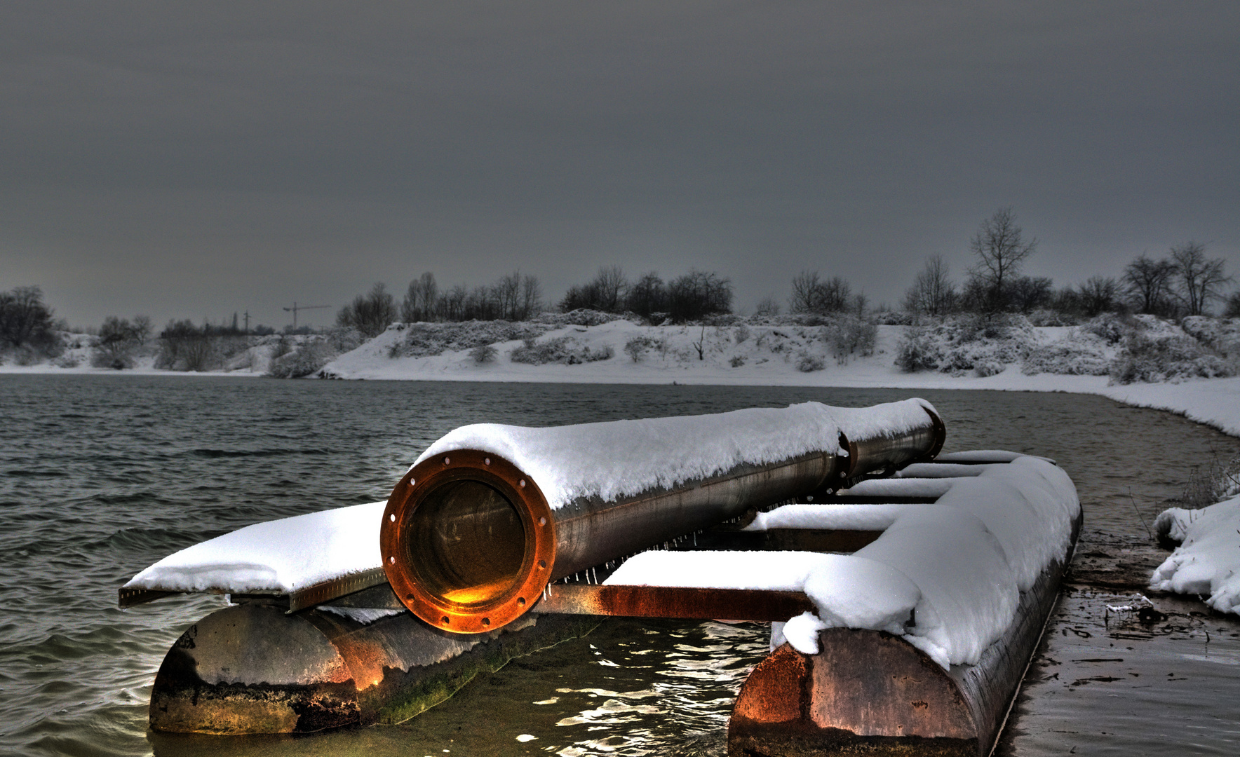 Rusted from the snow