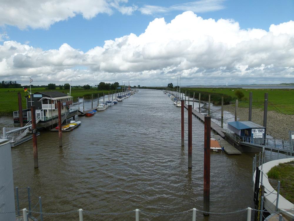Ruthenstrom-Yachthafen , Drochtersen