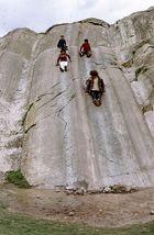 Rutsche in Sacsayhuaman