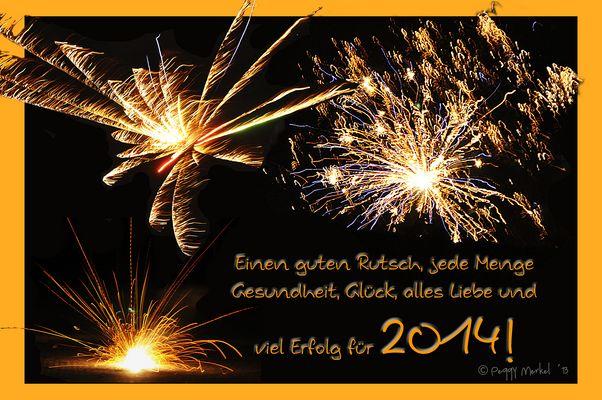 Rutscht gut ins Neue Jahr, aber bleibt standhaft ;-) !
