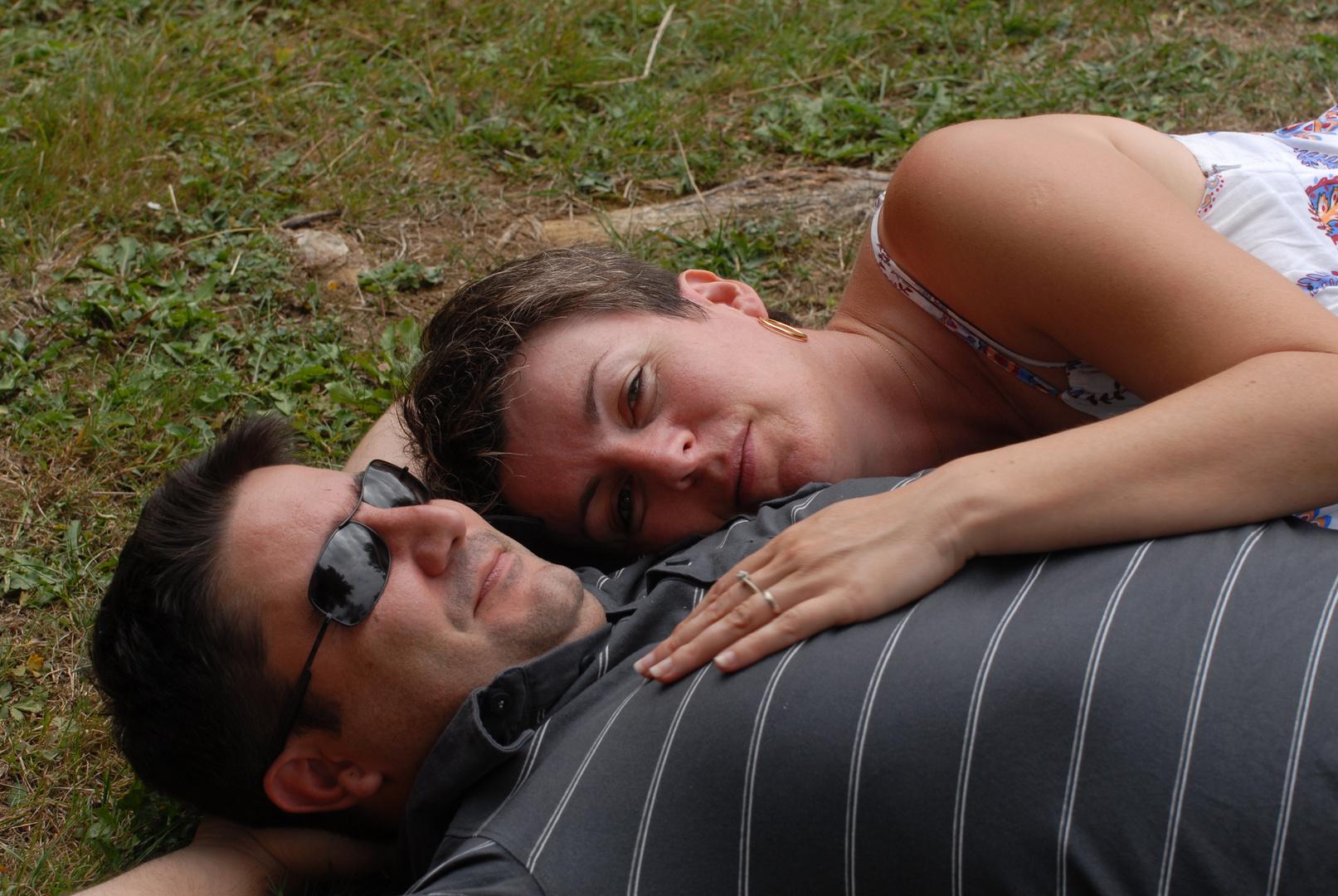 Rêver dans les bras de son amoureux...