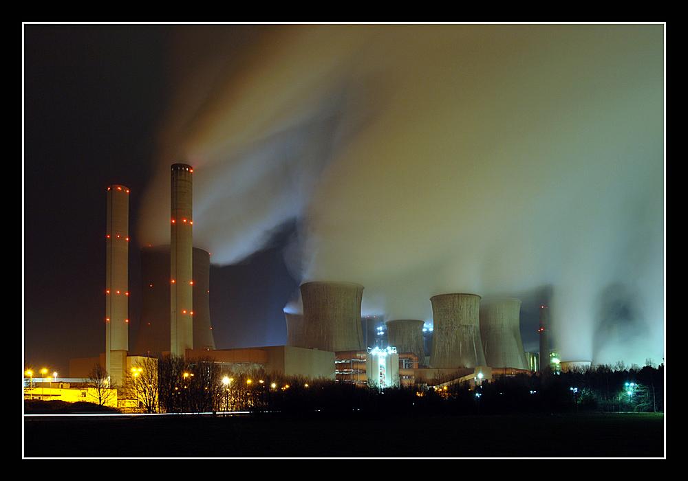 RWE Kraftwerk Niederaußem