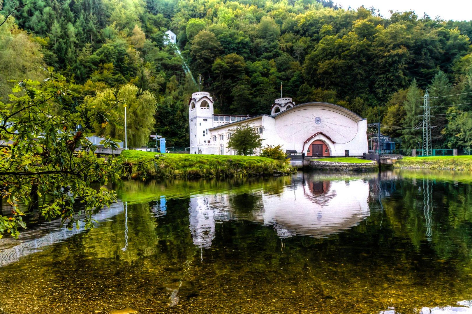 RWE- Wasserkraftwerk Heimbach