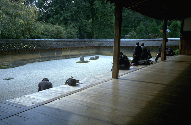Ryoanji Tempel