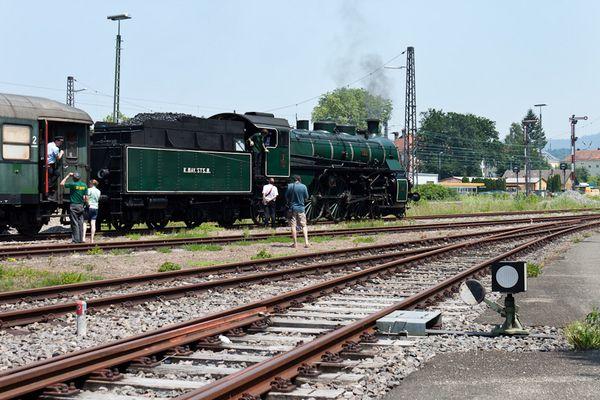 S 3/6 auf Sonderfahrt in Lindau 30.6.12