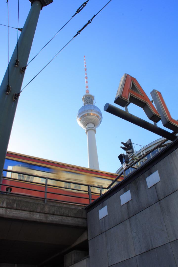 S-Bahn am Alex