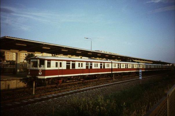 S-Bahn Berlin im Jahre 1989