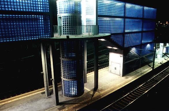 S-Bahn Haltestelle