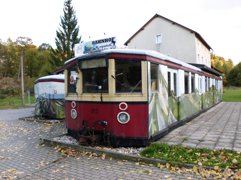 S-Bahn im Erzgebirge