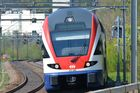 S-Bahn in Fahrt